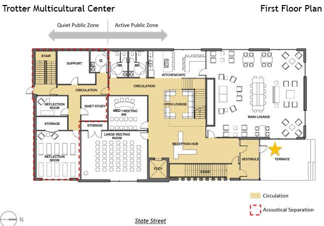 Schematic Design for Trotter on State | Trotter Multicultural Center