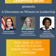 TDLS: Discussion on Women in Leadership